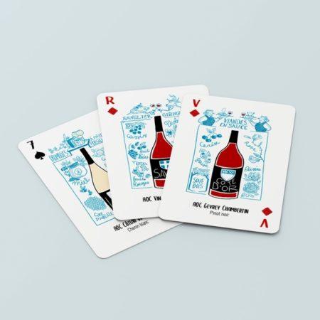 jeu de cartes des vins